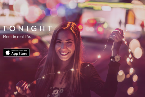 TONIGHT IS A NEW DATING APP OPTIMIZED FOR REAL DATES      Techcrunch    , Oct. 25, 2017