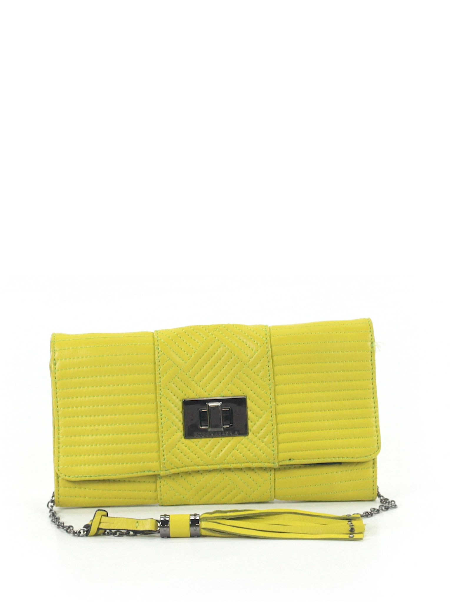 BCBGMAXAZRIA Handbag - Add a pop of color to a darker night-out ensemble with this statement crossbody bag.