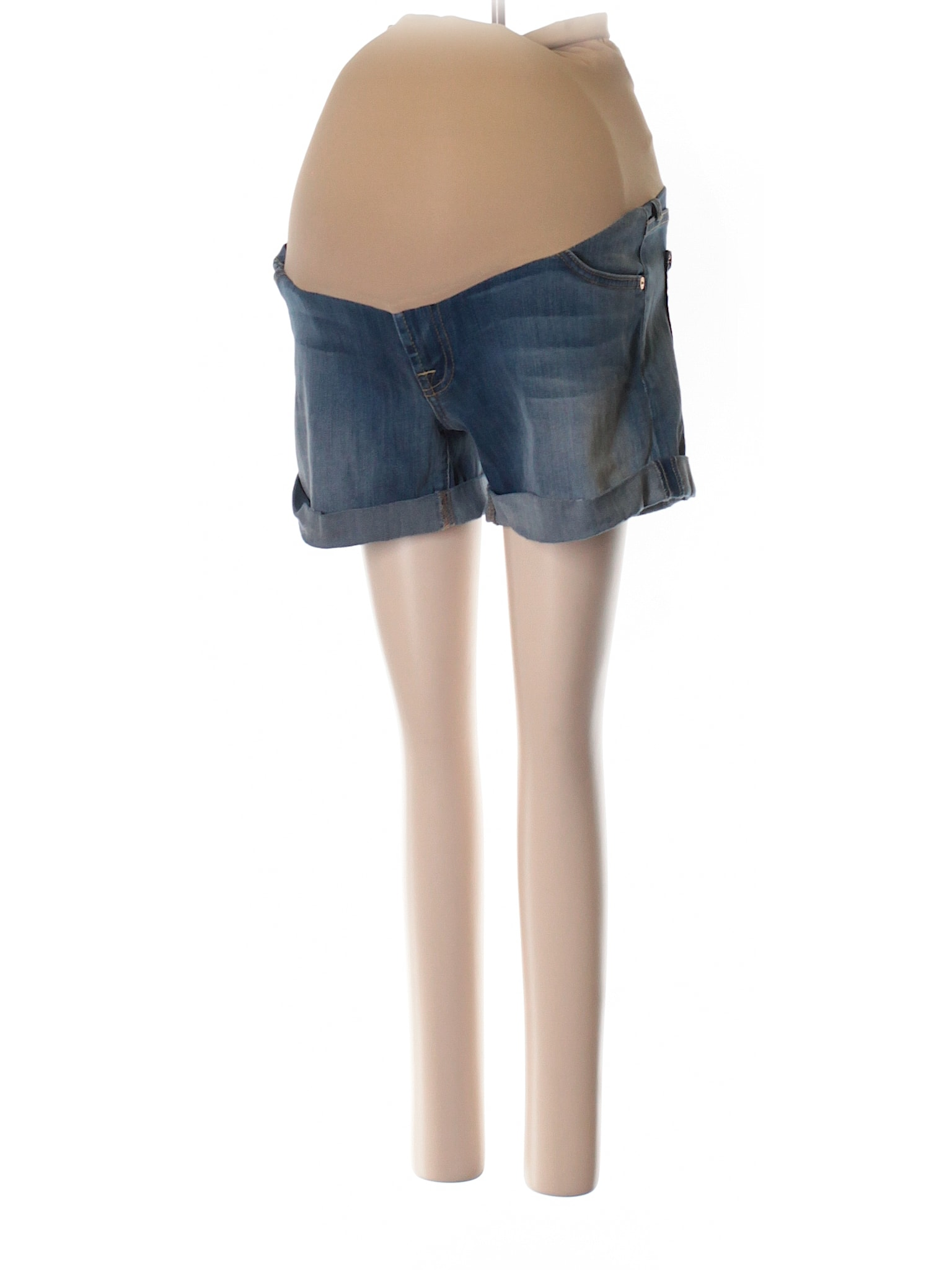 7 For All Mankind Maternity Shorts -