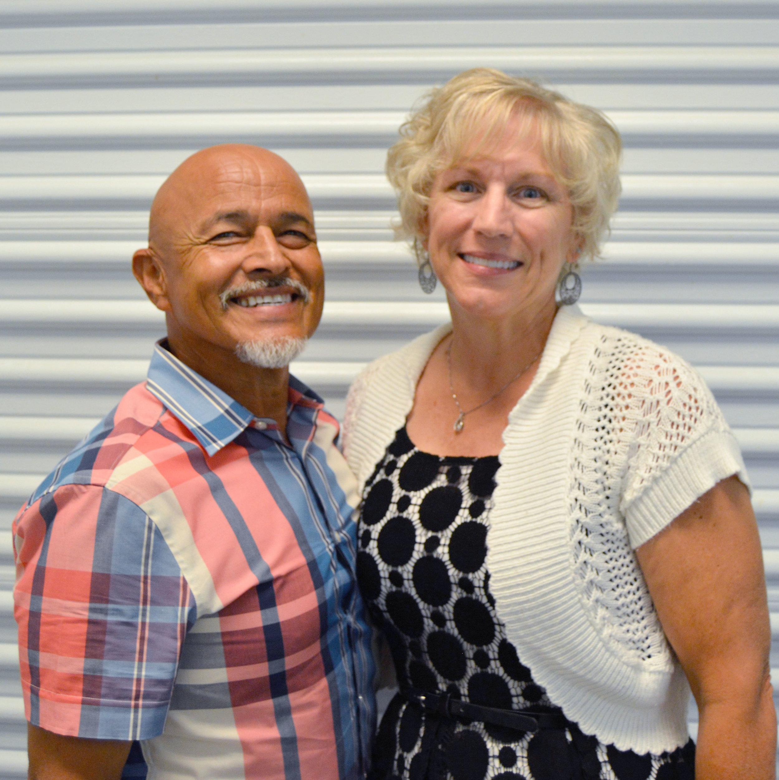 Deacon Seraphin Perez  and his wife Janna Perez
