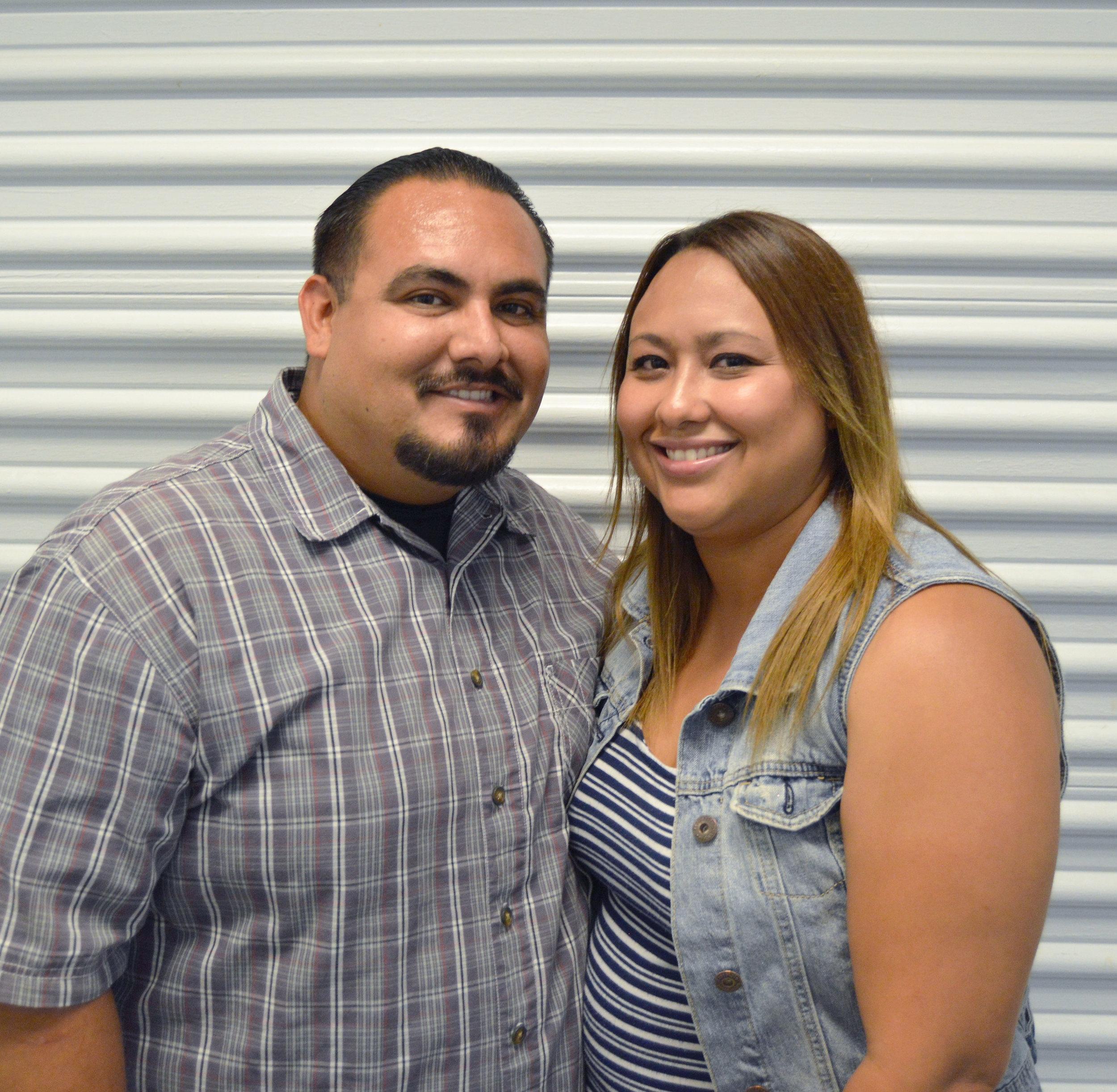 Ricky and Stephanie Portillo