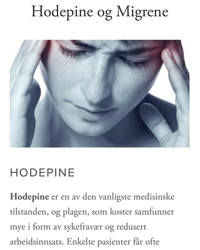 Mange opplever hodepine/migrene opp til flere dager i uken/måneden. Med (riktig) behandling kan man bli symptomfri! Terapeutene på Stavangerklinikken har mange års erfaring med behandling og veiledning, og vi tør påstå at her er vi flinke 😊 . . . #hodepine #migrene #hodepinebehandling #migrenebehandling #triggerpunktbehandling #osteopati #akupunktur #soneterapi #refleksologi #massasje #stavanger #byas #stavangercity #dyktigeterapeuter