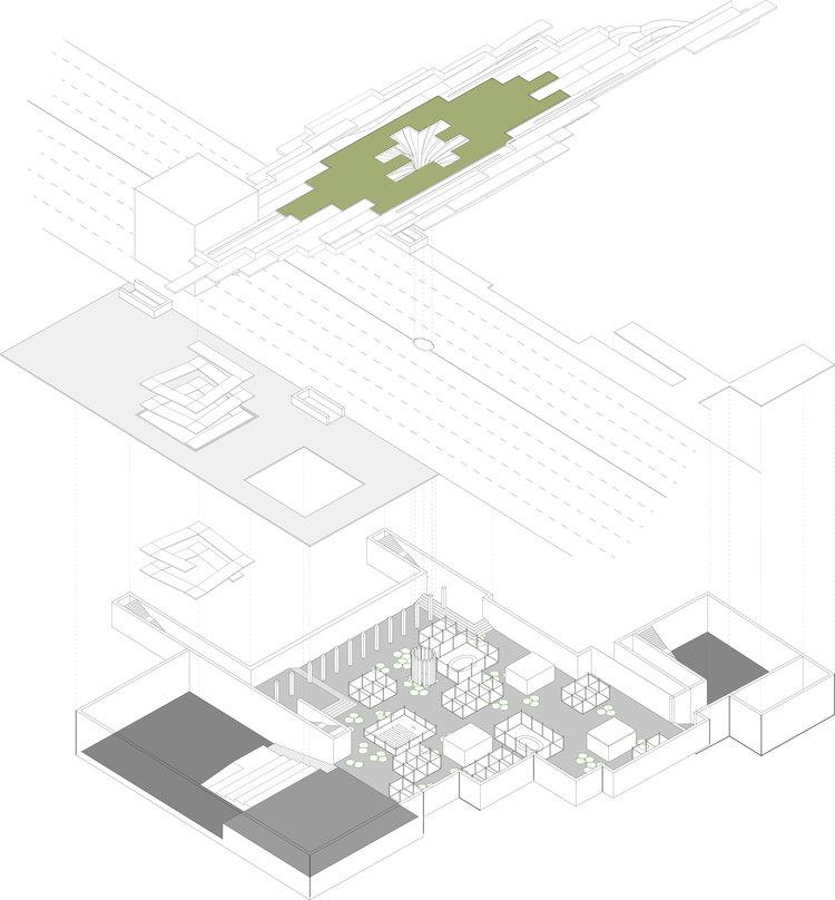 Seoul Masterplan_Prime Architecture London_Primebuild_Garden Bridge_Basement_04_Axonometric.jpg