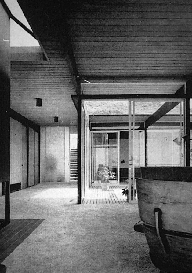 Craig Ellwood and Jerrold Ellsworth Lomax - Hunt House4.jpg