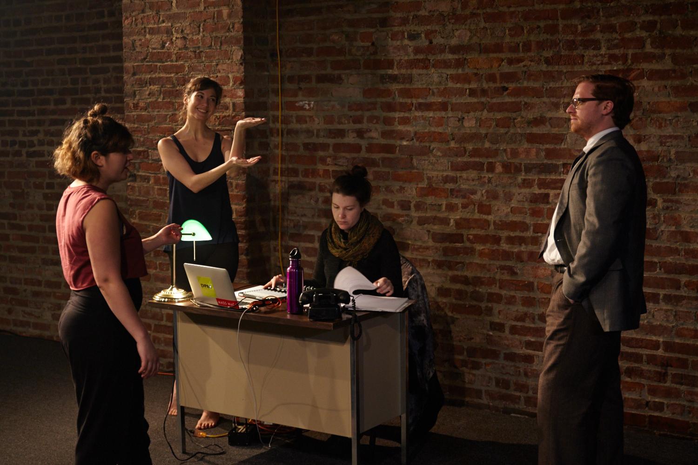 photo by  Suzi Sadler | featuring  Sam Corbin , Anastasia Olowin , Adrianna Brannon , and  Nathaniel Basch-Gould