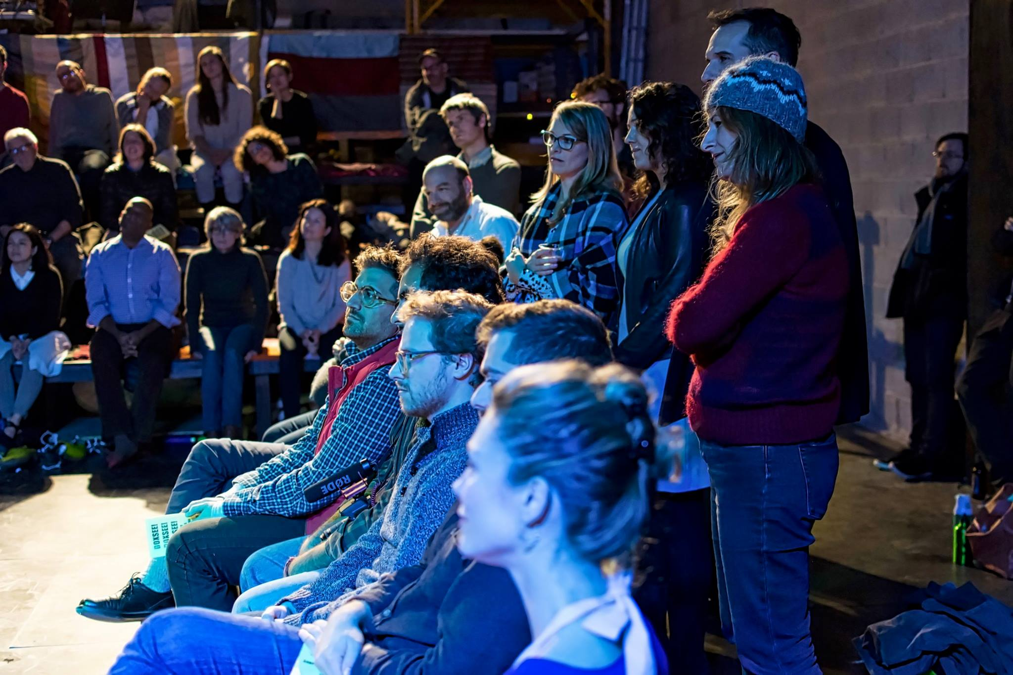 photo by  Adrian Jones  | featuring  Nathaniel Basch-Gould  and audience members