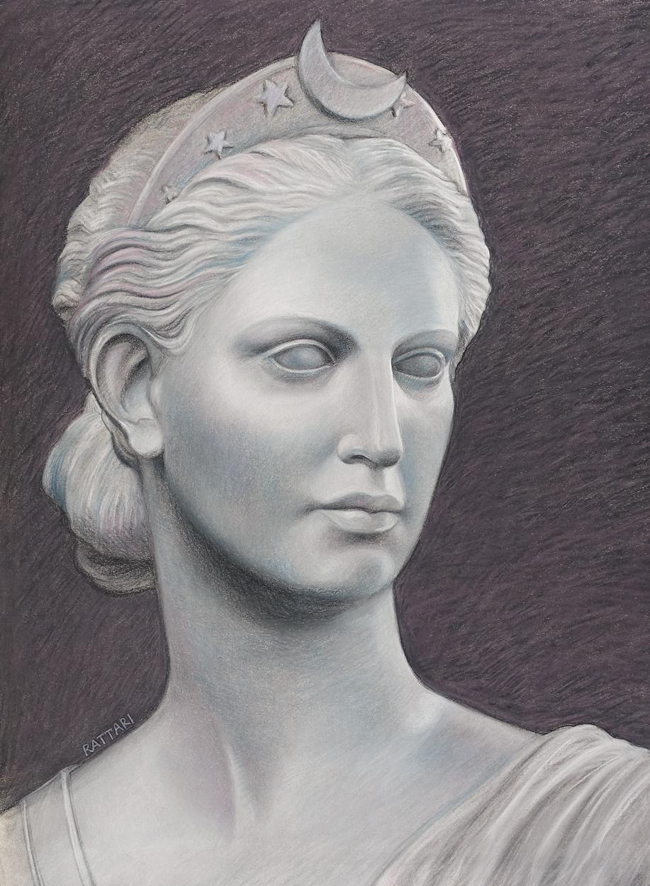 Diana by Hiram Powers