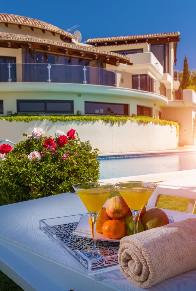 Fruit by the Pool, Villa El Cano, DSV Collection Marbella