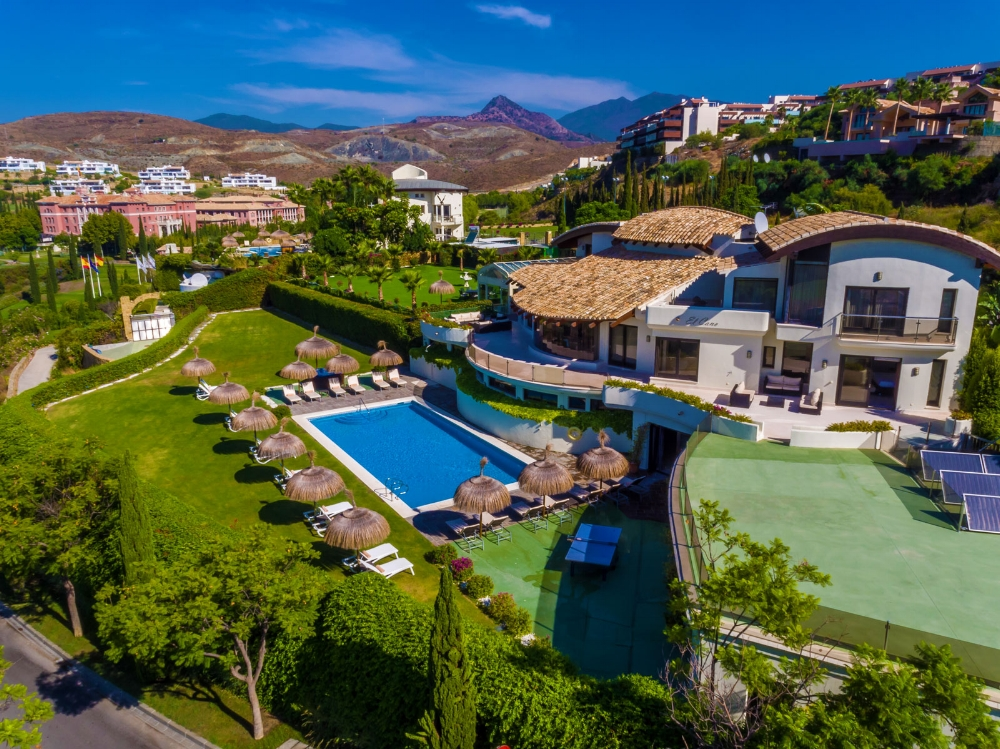 Aerial View, Villa El Cano, DSV Collection Marbella