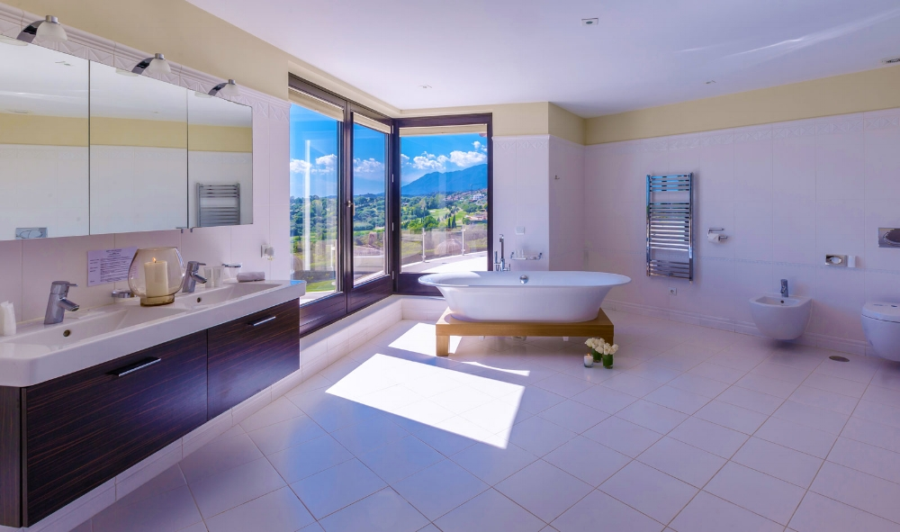 Bathroom, Villa El Cano, DSV Collection Marbella