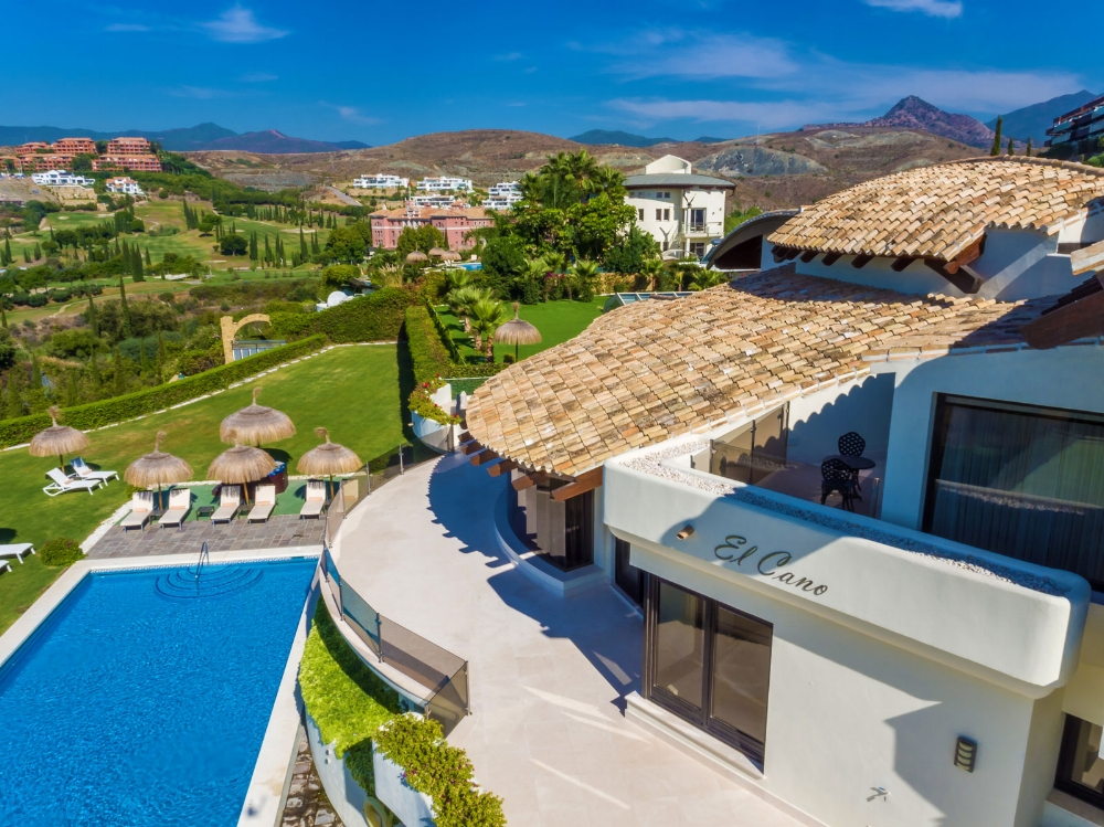 View from Above, Villa El Cano, DSV Collection Marbella
