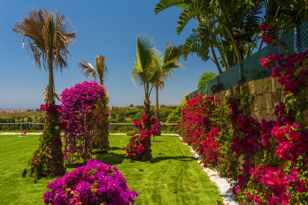 Spanish Garden & Flowers, Villa El Cano, DSV Collection Marbella