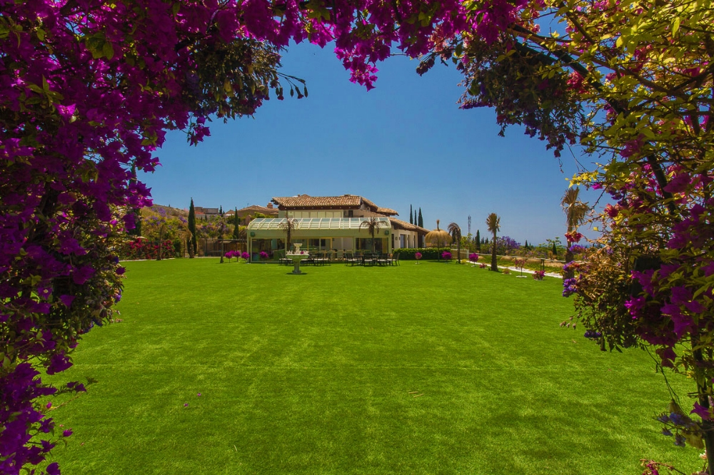 Garden, Villa El Cano, DSV Collection Marbella