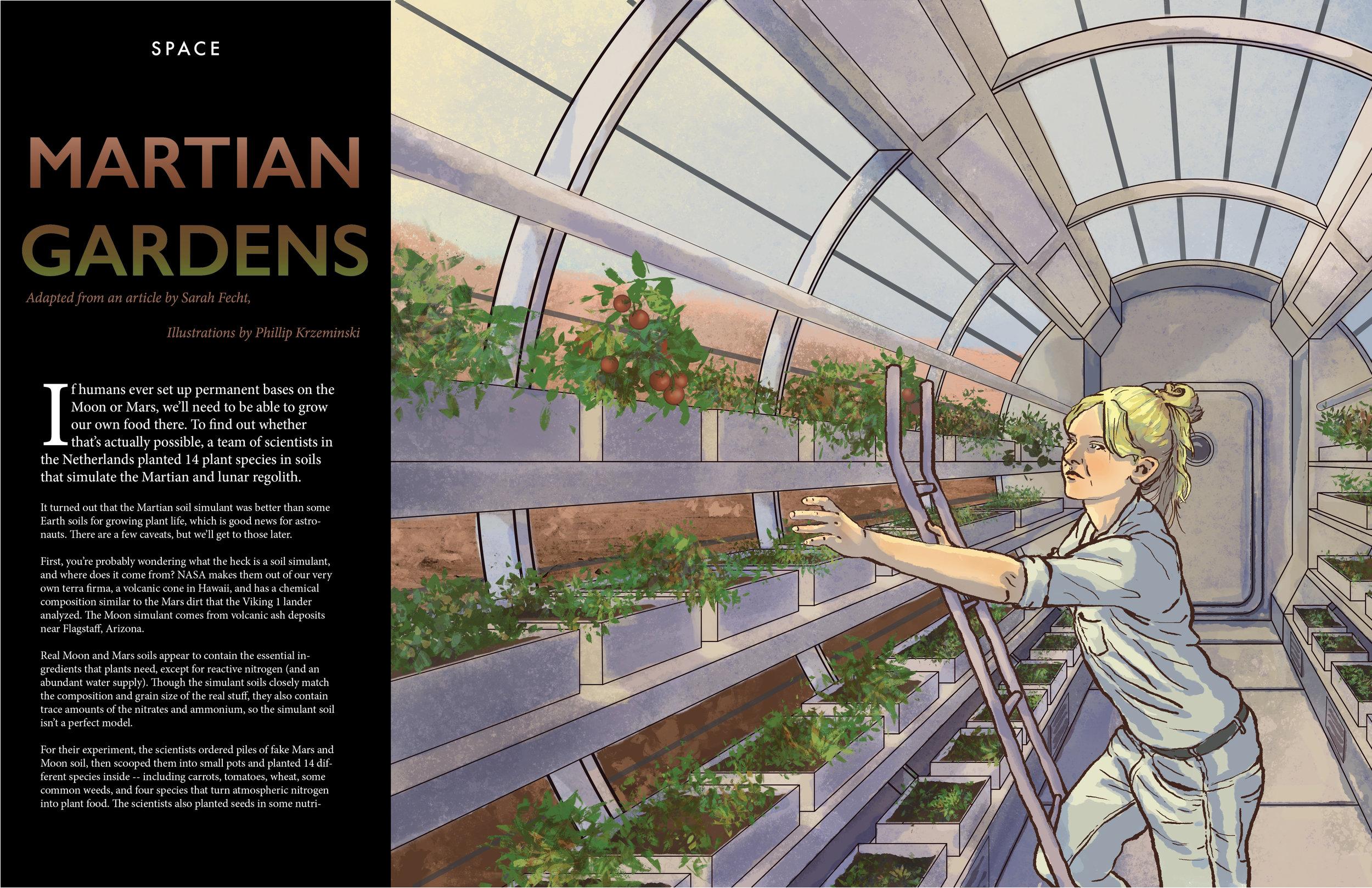 Martian Gardens
