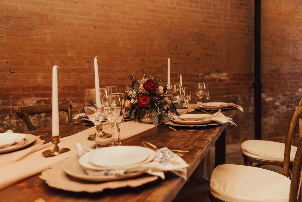 Photography: Bruna Kitchen ~ Floral: TR Floral & Decor ~ Rentals: 5 Star Rental ~ Event Coordinator: Callie Gray Weddings and Events