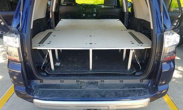 4Runner owners! We are happy to share our first customer installed platform and sleeper for the 5th Gen 4Runner!  We are currently offering these as a limited release, contact us at info@airdowngearup.com to learn more and order yours now! . . . . . #4runner #toyota #offroad #tacoma #4x4 #toyota4runner #tundra #overland #trd  #adventure #yota #letsgoplaces #explore  #trdpro #4runnermafia #yotamafia  #t4r #camping #overlanding #4runnernation #offroading  #4runnersdaily
