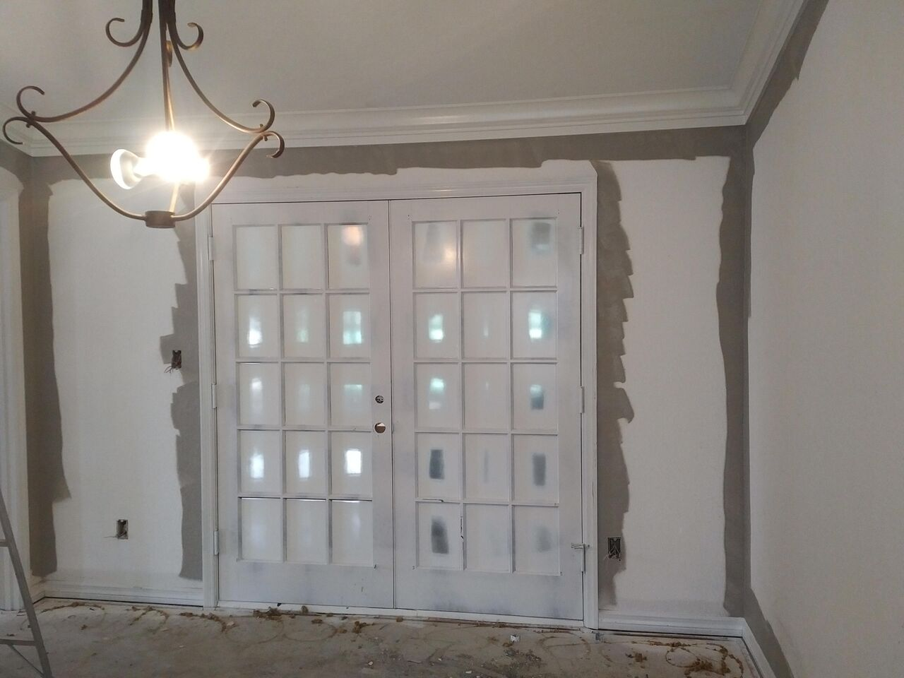 French Doors | Before