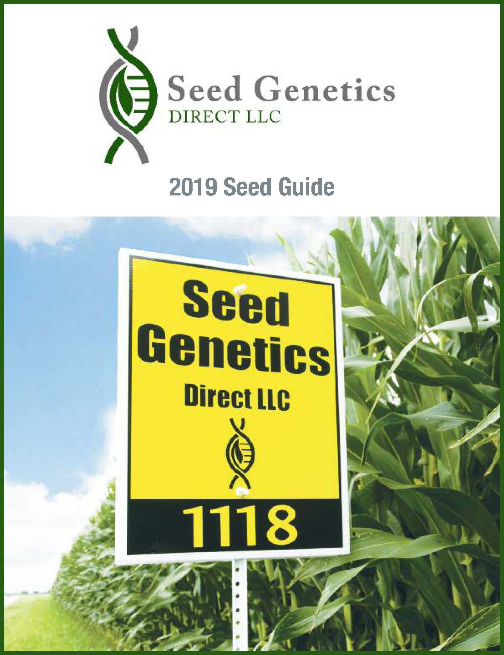 Seed Genetics Direct 2019 Seed Guide