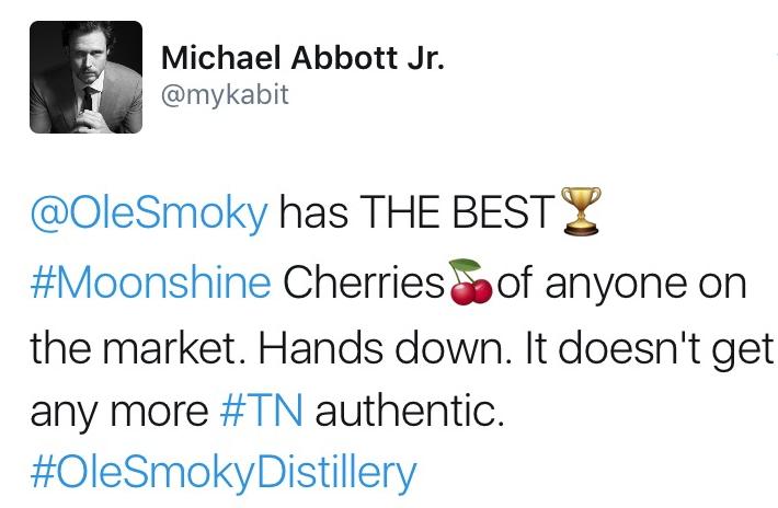 MICHAEL ABOTT JR. | TWITTER