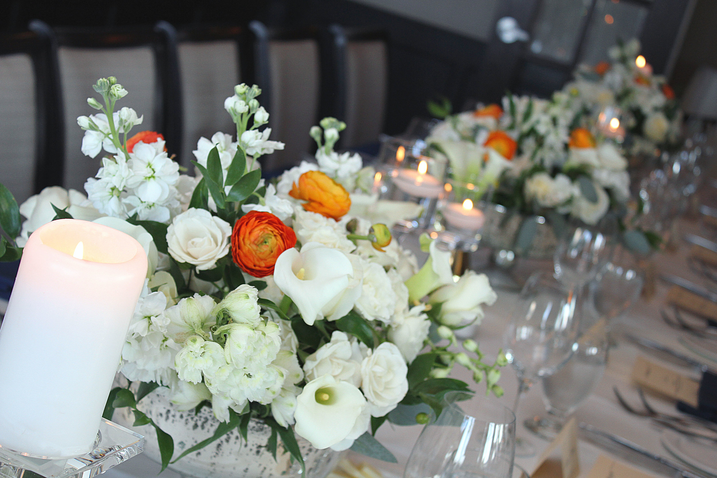 Floral & Design House table
