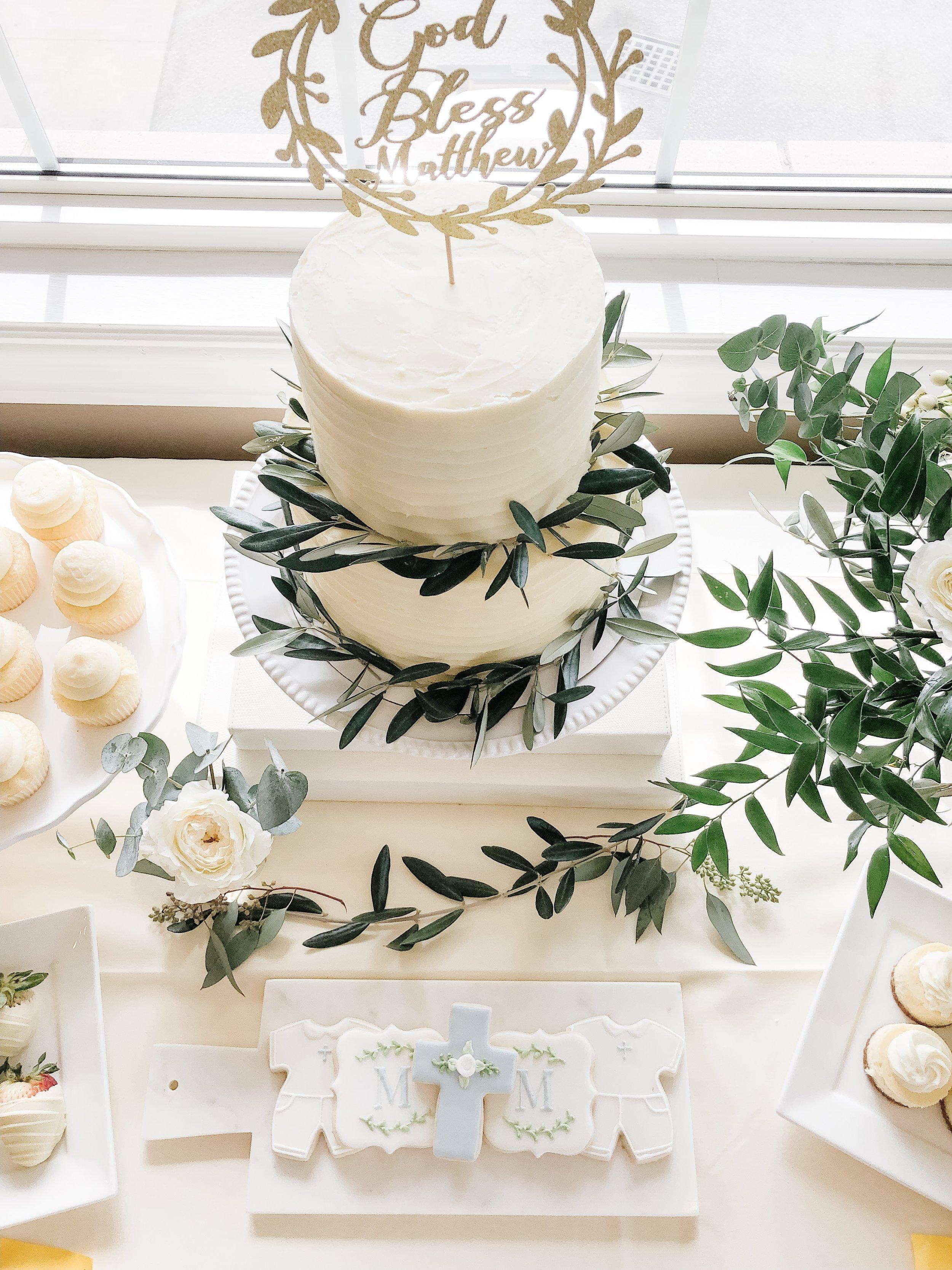 Floral & Design House Cake