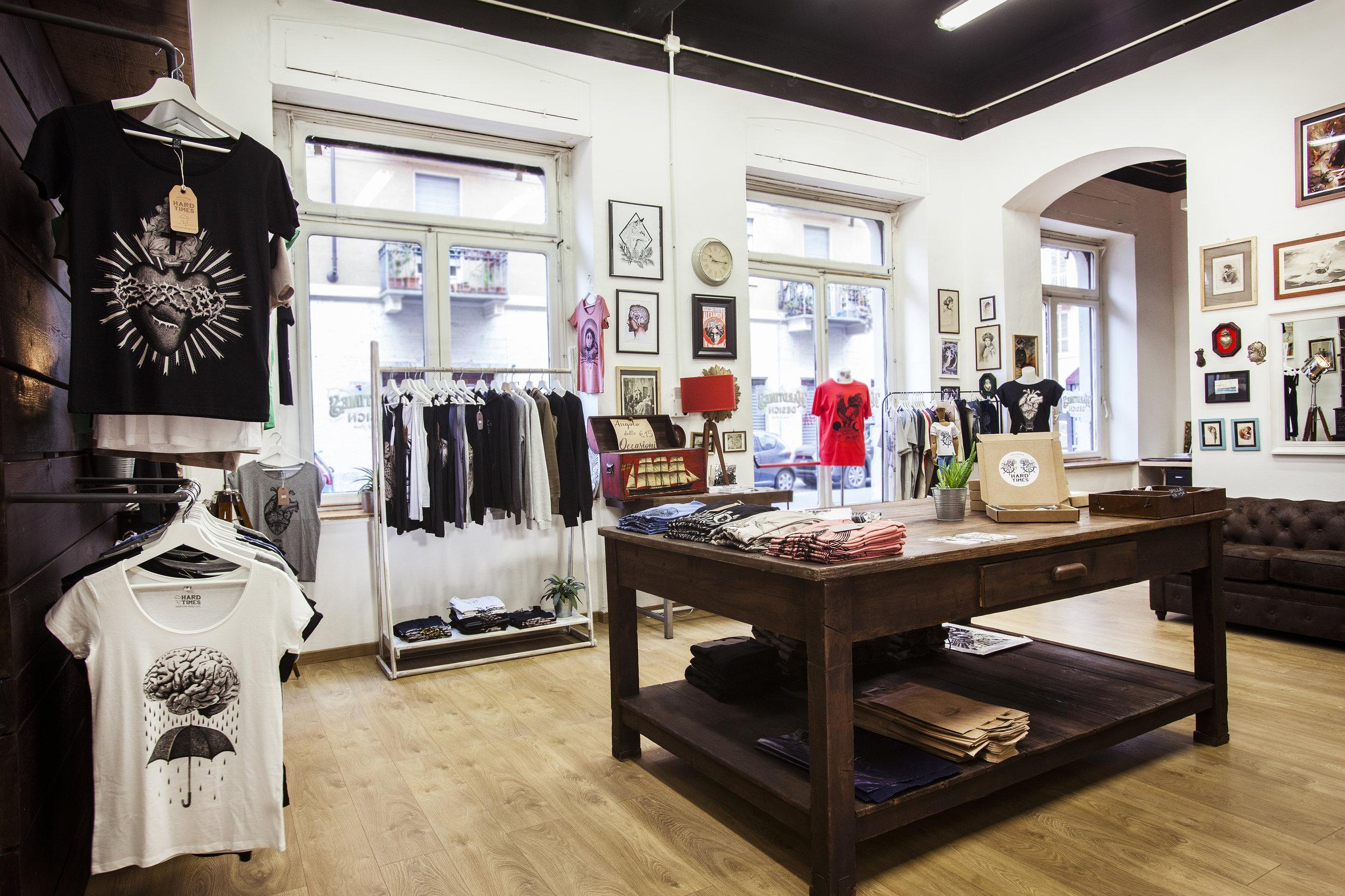 negozio abbigliamento torino