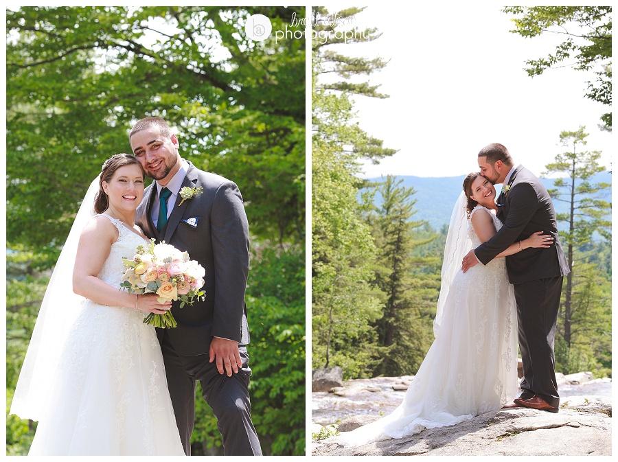 white mountains wedding photographer