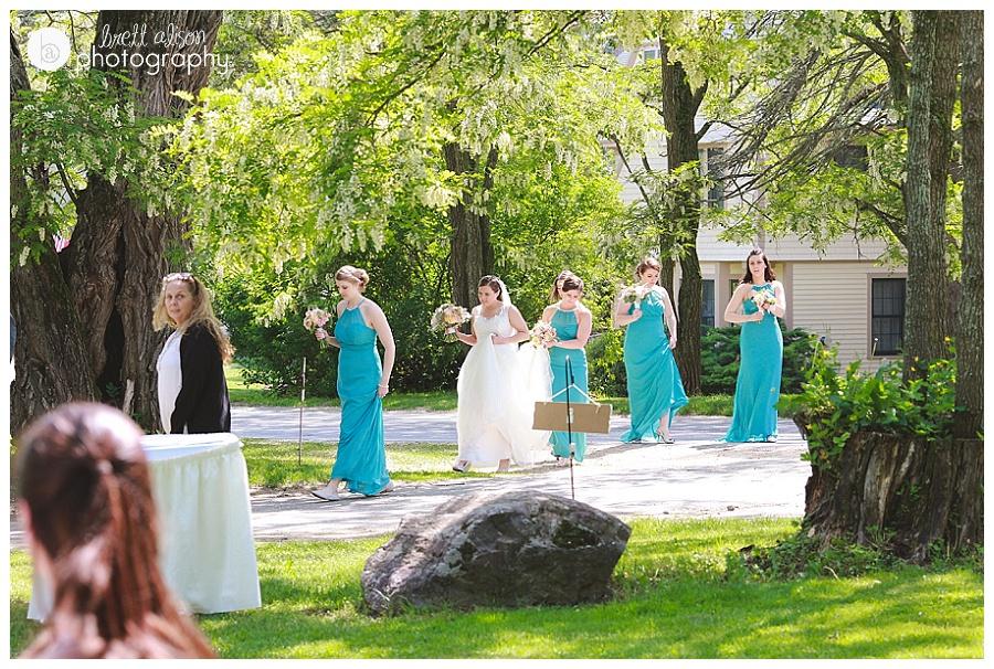 wedding at the wentworth, jackson nh
