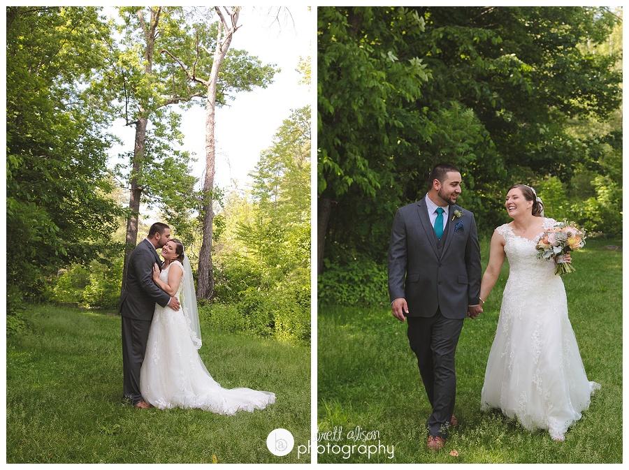 outdoor weddings mountains nh