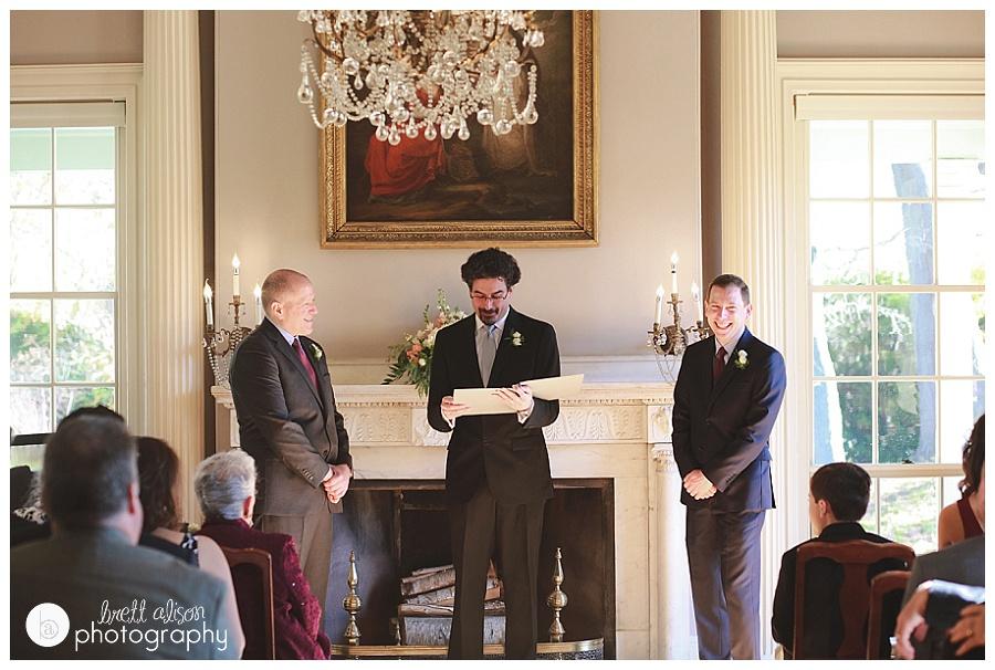wedding ceremony lyman estate