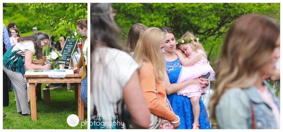 backyard wedding new england