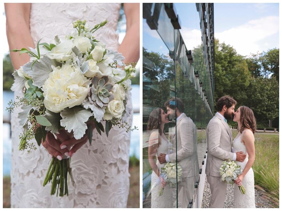 boating wedding boston