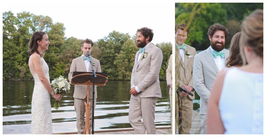 charles river wedding boston