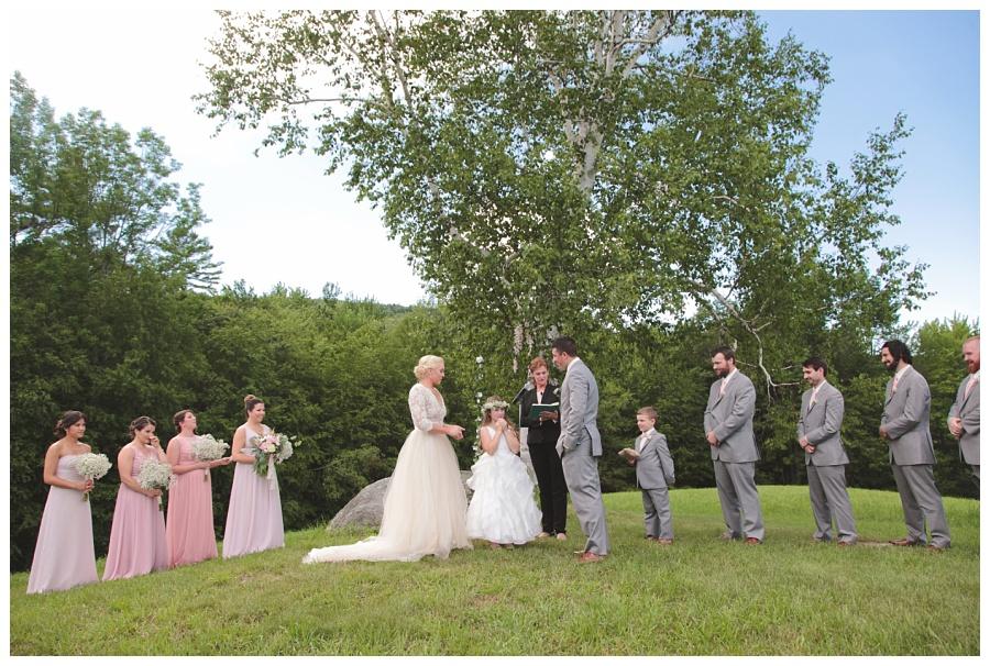 mountain wedding nh