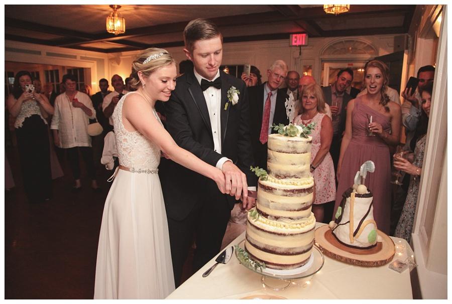 cake cutting wedding photos dennis inn