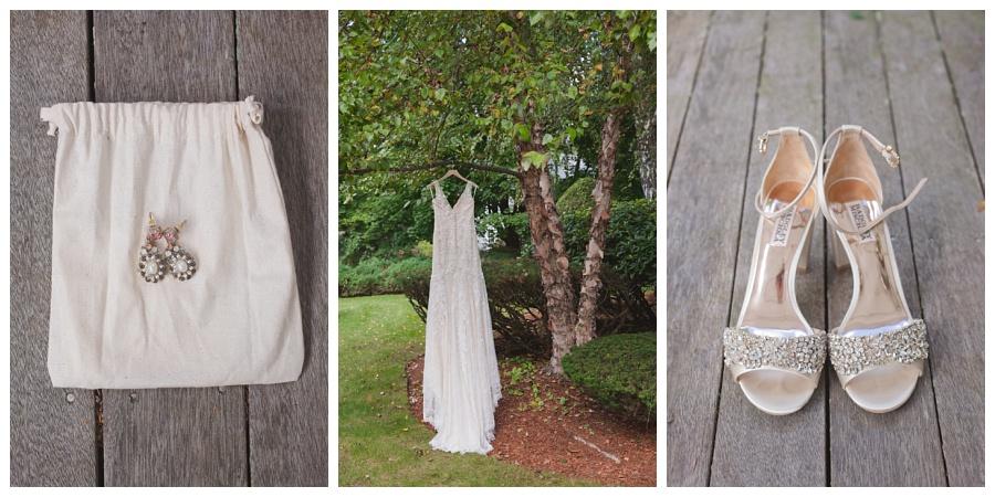 bhldn dress and wedding details