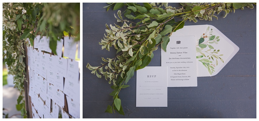 luna moss wedding details flowers