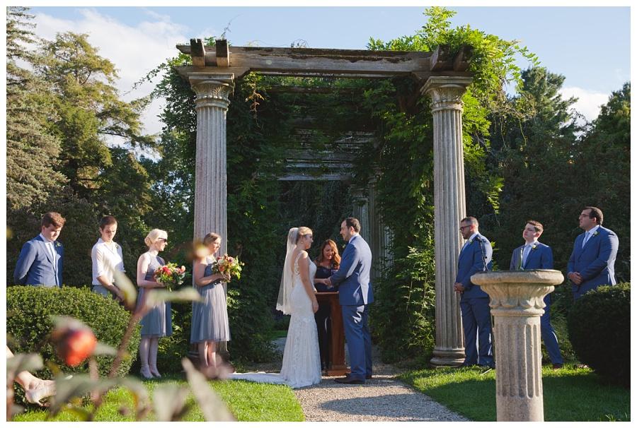fall wedding glen magna farms