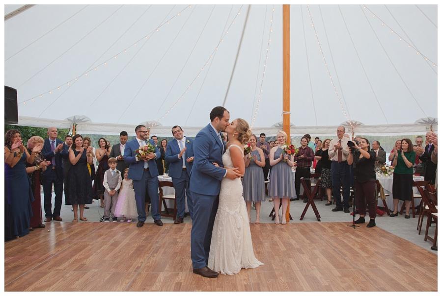tent wedding glen magna farms