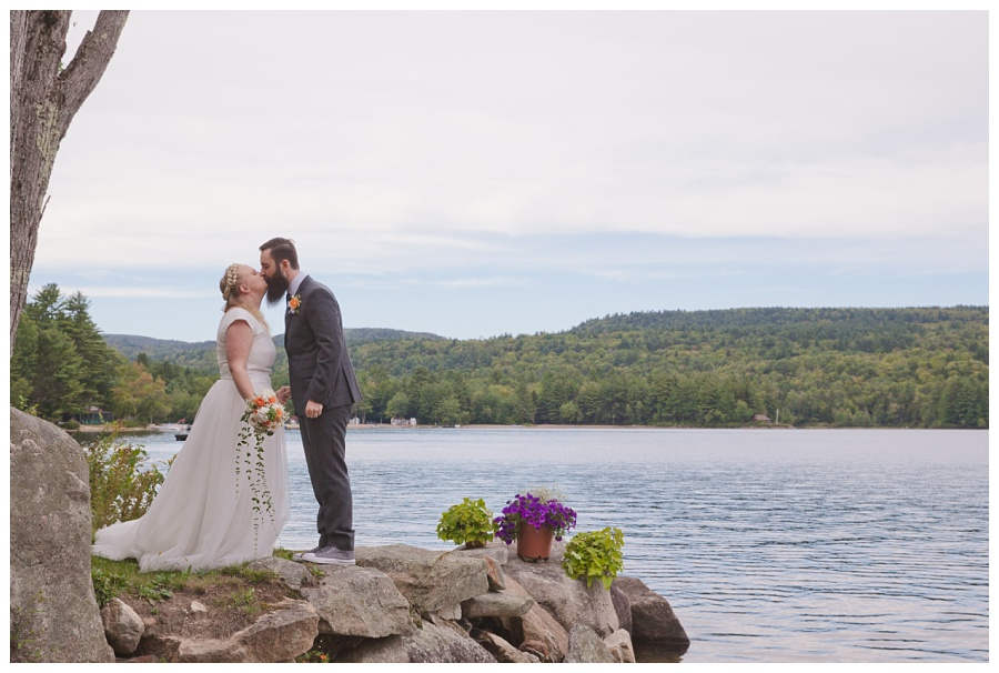 pleasant lake wedding nh