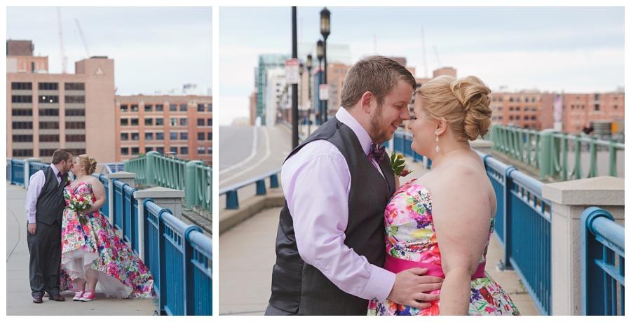 downtown boston wedding on the water