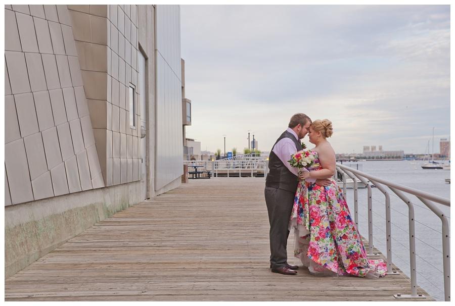 wedding at the new england aquarium