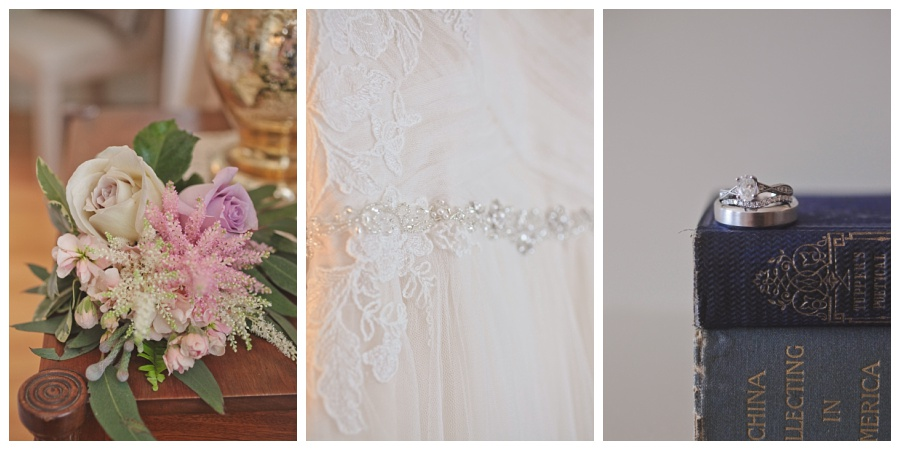 romantic wedding details vintage
