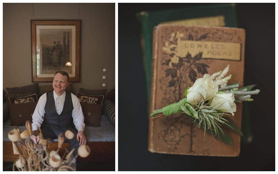 groom suite glen magna farms wedding
