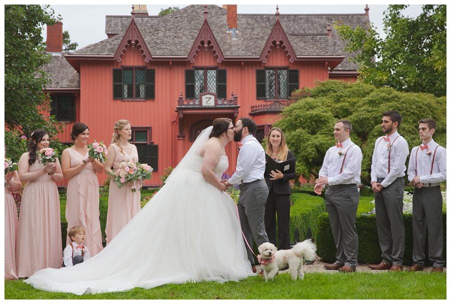 dog as best man wedding