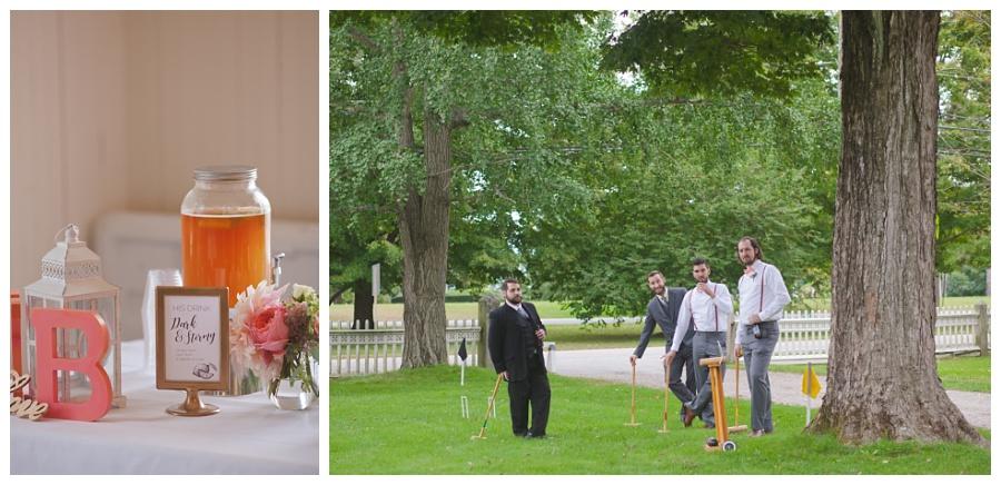 croquet at wedding