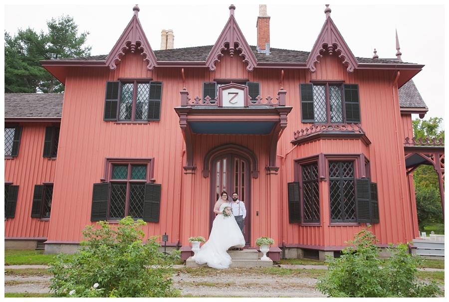 historic new england wedding