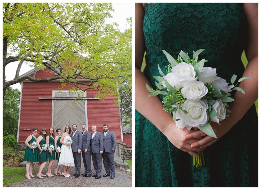 endicott park wedding photos