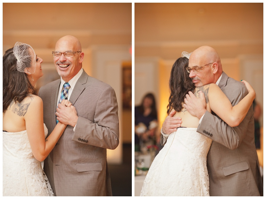 father daughter first dance candid photos