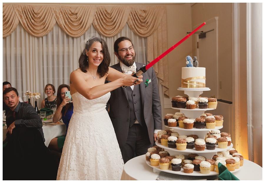 star wars wedding details